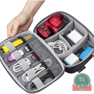 手拿便攜數據線充電器收納包數碼電源線收納整理盒【福喜行】