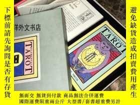 二手書博民逛書店【罕見】1988年出版《塔羅牌:The Elemental Ta