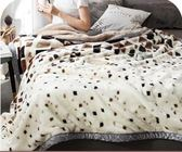 珊瑚絨毛毯夏季學生單人午睡薄款空調被子