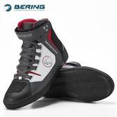 法國BERING機車騎行鞋 賽車鞋子機車越野拉力靴防水透氣【潮男街】