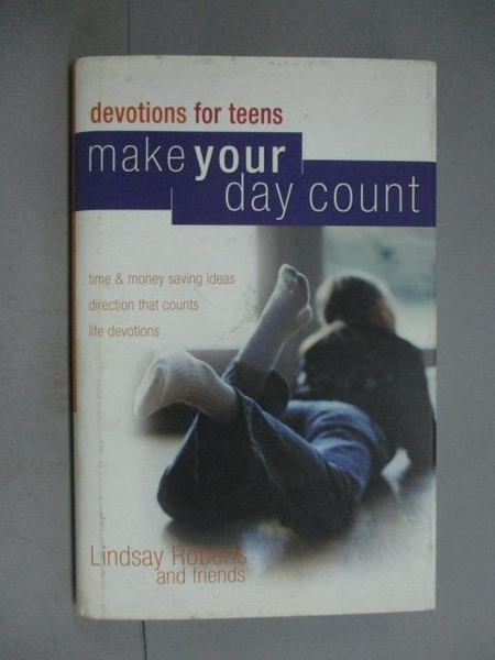 【書寶二手書T2/宗教_XDF】Make Your Day Count Devotional for Teens_Lin