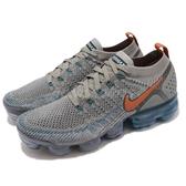 Nike Air VaporMax Flyknit 2 灰 銀 二代 飛線編織 大氣墊 運動鞋 男鞋【PUMP306】 942842-011