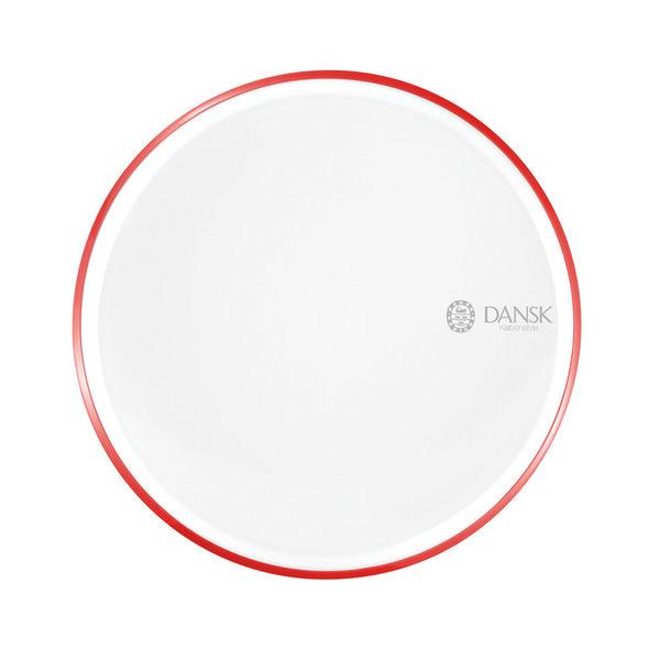 DANSK 琺瑯材質餐盤(紅色)21CM-fujidinos