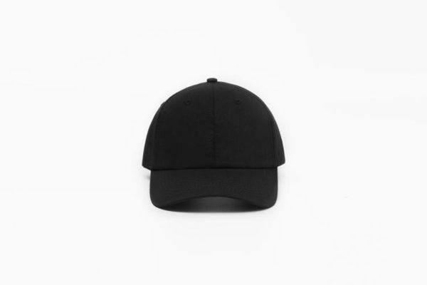 Baw春夏軟頂黑色男女鴨舌帽韓版潮彎簷運動帽純色潮帽棒球帽子