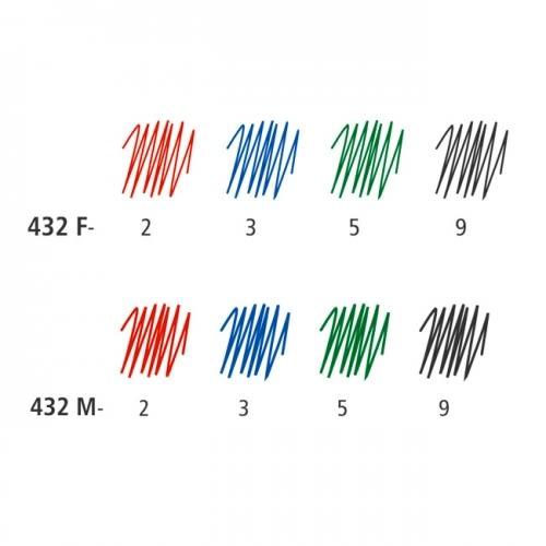 【STAEDTLER】施德樓  MS432M 三角原子筆 (M尖)