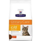 【寵物王國】希爾思c/d Multicare泌尿系統護理貓處方8.5磅