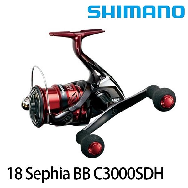 漁拓釣具 SHIMANO 18 SEPHIA BB C3000SDH (紡車捲線器/單手把)