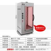 烤鴨機 立式烤鴨爐商用全電熱烤雞烤箱旋轉燒烤牛肉烤魚肉機 220V 潮先生 DF