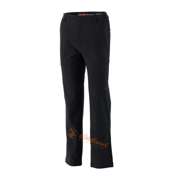 Wildland 荒野 0A32312-54黑色 男 輕薄防風保暖褲