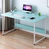 電腦桌台式家用辦公桌簡約寫字台學生簡易書桌臥室組裝單人小桌子 樂活生活館