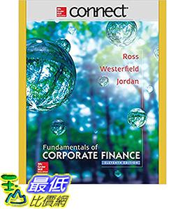 [106美國直購] 2017美國暢銷軟體 Connect 1 Semester Access Card of Corporate Finance 11th Edition