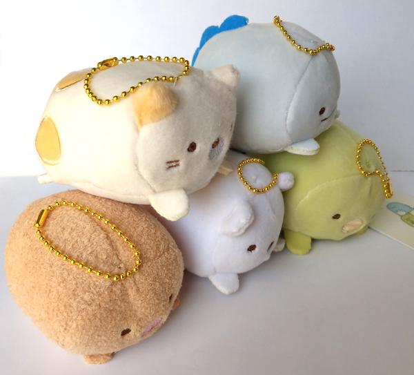 【卡漫城】 角落生物 吊飾 舒壓 三款選一 ㊣版 鑰匙圈 玩偶 絨毛娃娃 掛飾 Sumikko 小夥伴 軟Q