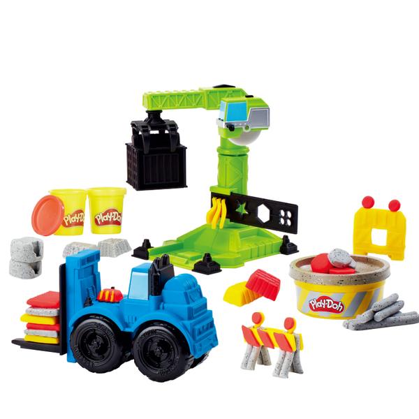 培樂多黏土Play-Doh車輪系列 起重機遊戲組