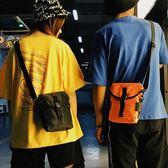 胸包—包土酷蹦迪胸前包嘻哈斜背包運動女手機包男休閒煙包小包 〖korea時尚記〗