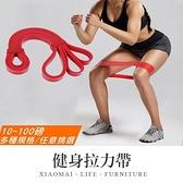 ✿現貨 快速出貨✿【小麥購物】健身拉力帶 多功能環狀彈力帶 彈力繩 彈力帶 重訓 阻力帶【Y547】
