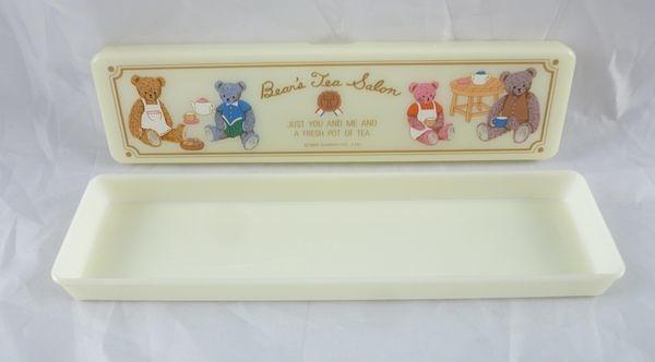 【震撼精品百貨】Bear's Tea Salon 熊~塑膠鉛筆盒