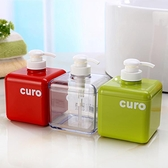 日本Lec沐浴露洗發水家用按壓分裝瓶 可愛透明化妝品洗手液分裝瓶 韓美e站