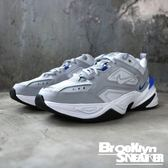 Nike M2K Tekno 灰藍 皮革 老爹鞋 復古 老爸鞋(布魯克林)2019/1月 AV4789-005