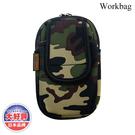 Workbag 多功能收納袋(三用) JD-230G / 城市綠洲 (收納包、雜物包、腰包、手機包)