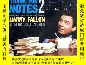 二手書博民逛書店Thank罕見You Notes 2Y343790 Jimmy Fallon 著 Grand Central