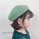 秋季兒童帽子韓版冬款女童針織貝雷帽女童時尚毛線帽南瓜帽子潮流 一米陽光
