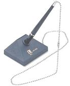 【利立】LIH-626 伸縮筆/原子筆 (珠鍊含座)(筆芯顏色 藍/黑)