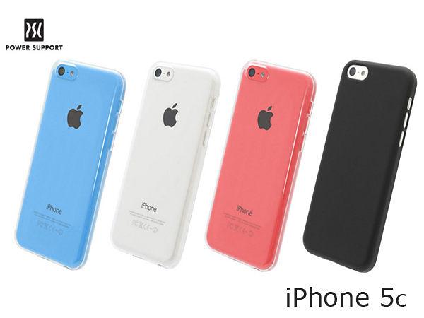 【台灣首賣】【A Shop】日本Power Support Air jacket iPhone5C 專用保護殼(PJC) 共2色