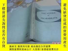 二手書博民逛書店the罕見annals of probabilty ( 16開