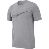 Nike 男圖案圓領上衣(灰色)