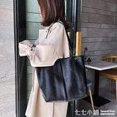 網紅單肩大包包女2019新款潮韓版百搭大容量軟面斜挎包時尚托特包