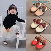 【618好康又一發】寶寶鞋子女軟底嬰兒學步鞋真皮單鞋