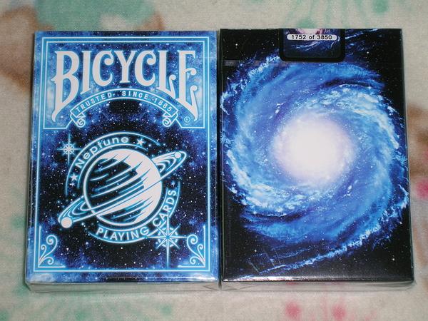 【USPCC撲克】Bicycle Neptune deck 海王星