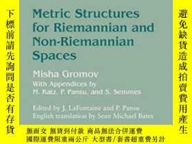 二手書博民逛書店Metric罕見Structures For Riemannian And Non-riemannian Spac