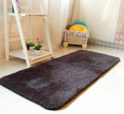 慢回彈超軟棉紗線地毯 門墊 吸水墊 床邊毯【藍星居家】