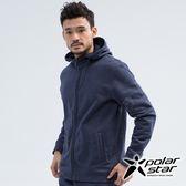 PolarStar 中性 刷毛保暖外套『灰藍』 P18205 戶外 休閒 登山 露營 保暖 禦寒 防風 刷毛