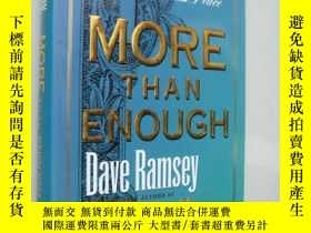 二手書博民逛書店MORE罕見THAN ENOUGH:proven keys to