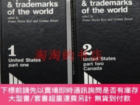 二手書博民逛書店Top罕見symbols and trademarks of the world 1 + 2 2冊一括 <①Uni