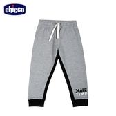 chicco To Be B 拼接配色休閒束口長褲