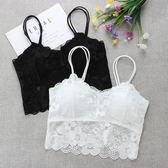 2件裝 蕾絲裹胸內衣女學生高中少女吊帶背心文胸短款性感美背抹胸 生日禮物