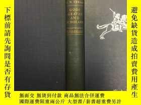 二手書博民逛書店Gods,罕見graves, and scholars: The