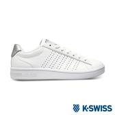 K-SWISS Court Casper S時尚運動鞋-女-白/銀