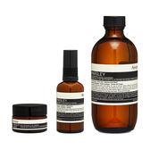 Aesop 香芹籽潔面露 + 抗氧化保濕乳 (適合中性至乾性膚質) + 香芹籽抗氧化眼霜 組合, 共3件