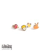 STAYREAL x Le Petit Prince 小王子耳環組 (四入一組)