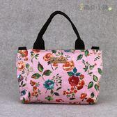 斜背包 包包 防水包 雨朵小舖 M446-035 花樣雙包胎斜背兩用包-粉帶梗玫瑰花03317 funbaobao