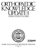 二手書博民逛書店《Orthopaedic Knowledge Update I: Home Study Syllabus》 R2Y ISBN:0892030003
