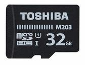 【聖影數位】東芝 TOSHIBA M203 32GB microSDHC UHS-I 100MB/s U1 C10 記憶卡