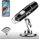 [2美國直購] Wireless 顯微鏡 Digital Microscope 1X-1000X 1080P Handheld Portable Mini WiFi USB Microscope Camera