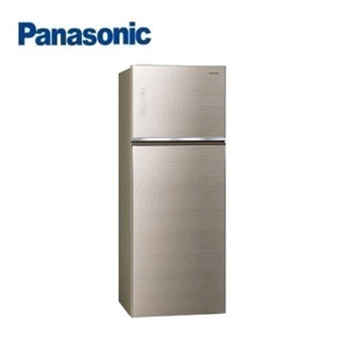 Panasonic 485L 2門全平面無邊框玻璃電冰箱 NR-B489TG-N(翡翠金)