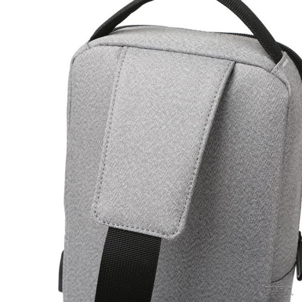 胸包 胸包男士包包2020新款時尚潮牌小背包帆布大容量單肩斜挎包男