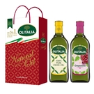 【Olitalia奧利塔】純橄欖油+葡萄籽油禮盒組(1000ml各1)